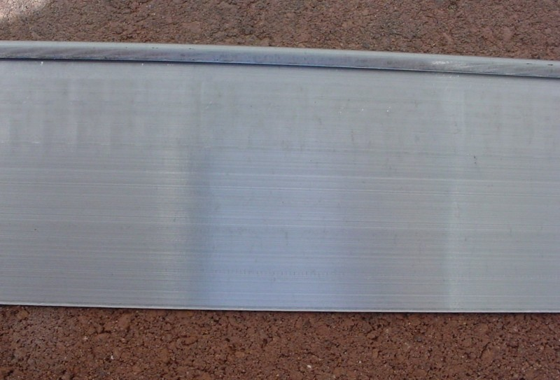 Rolled Top Galvanized Edging