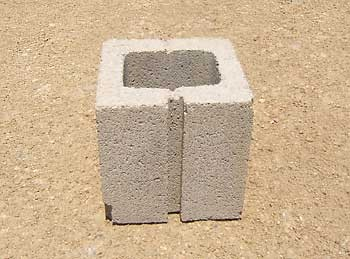 1/2 Concrete Block